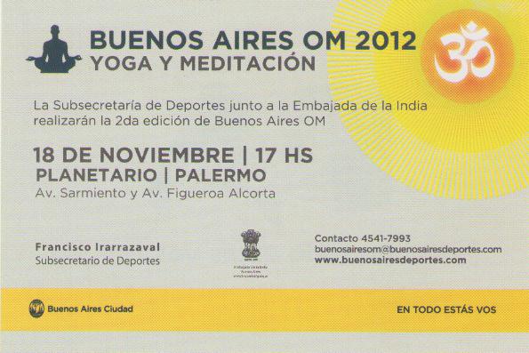 Sahaja Yoga en Buenos Aires OM